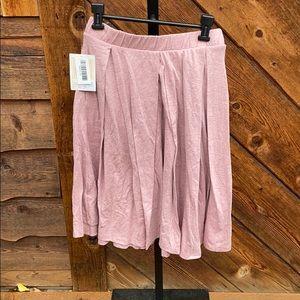 Lularoe Madison Dusty Rose Skirt